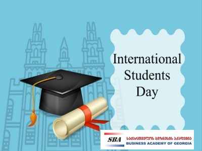 Happy International Students' Day!